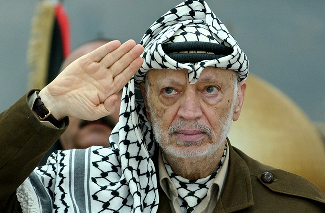 But I am (Yasser Arafat)