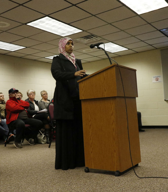 Faisa Magi-Mohamed noted the positive economic impact the Muslim community has on the town. NOT!