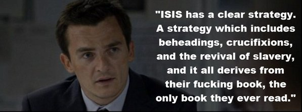 Homeland's Peter Quinn talks about the quran