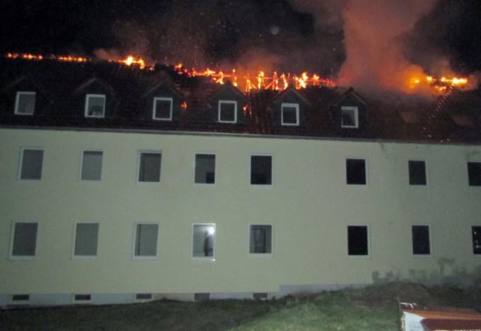 Tröglitz - Ermittlungen nach Brandanschlag