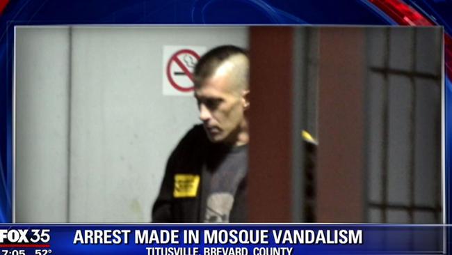 os-fox-arrest-made-in-mosque-vandalism-in-titusville-20160105