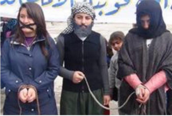 ISIS sex slave auction