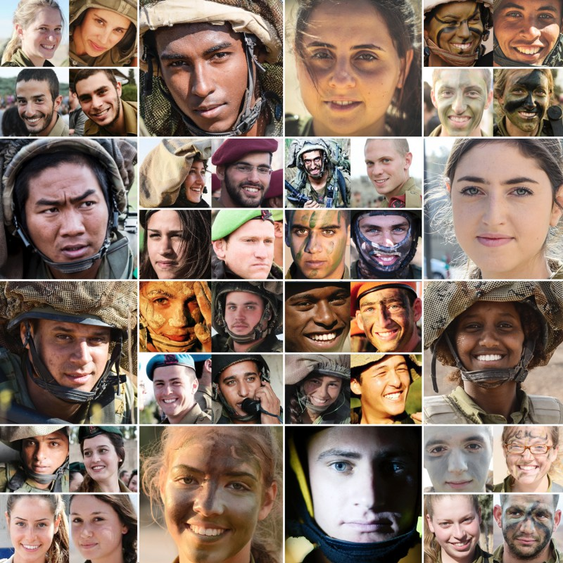 Faces of the IDF