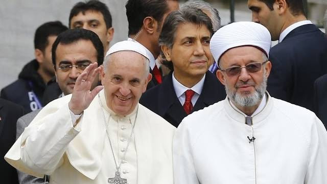 pope evil likens isis