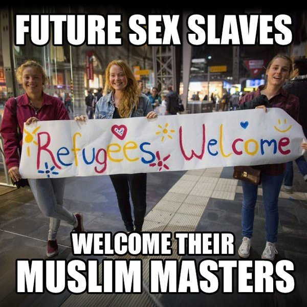 Image result for we just want to rape your women muslim meme