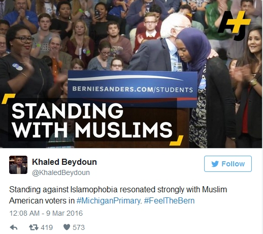 Standing with Muslims