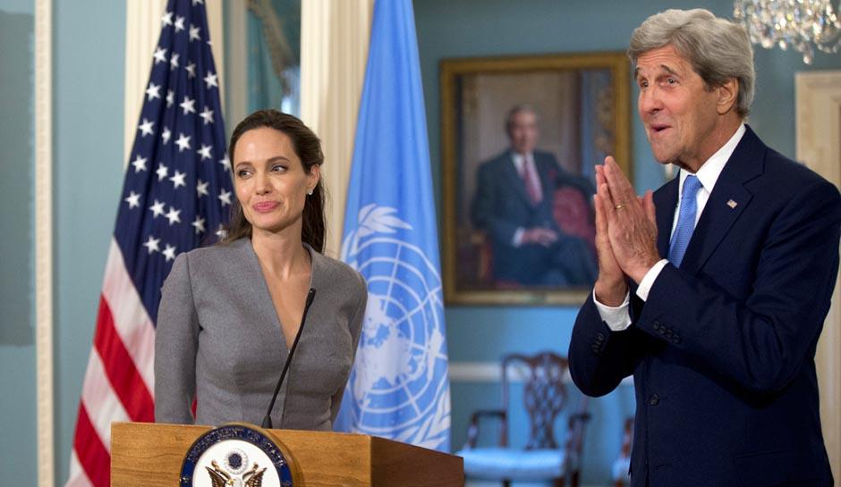 John Kerry,Angelina Jolie