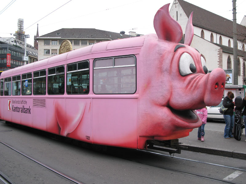 What's next? Replacing all the Swiss pig trams?