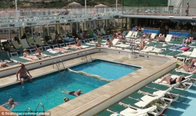 And a swimming pool, perfect for raping young girls on the ship