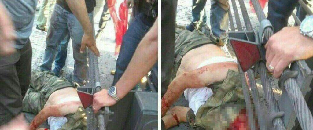 las tropas de Erdogan han decapitado a algunos de los presos