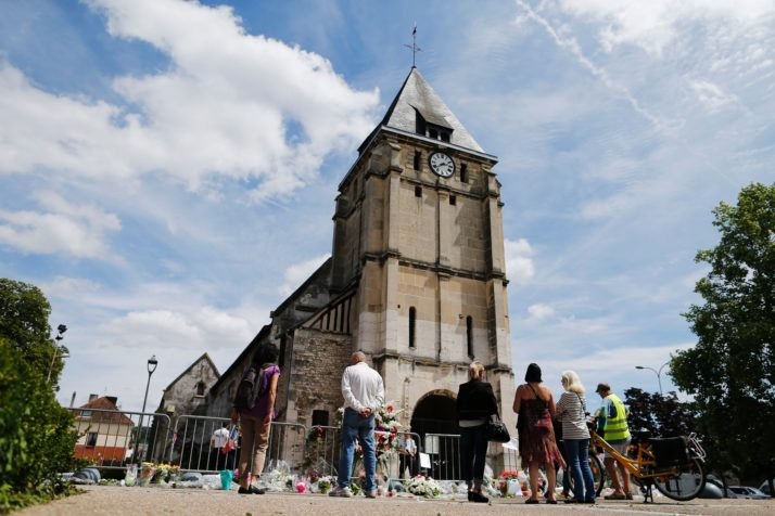 FRANCE-ATTACK-CHURCH