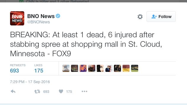 """One dead"" might not be true, hopefully"