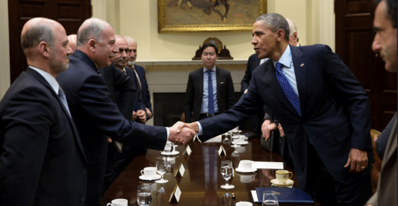 Obama welcomes Muslim Brotherhood officials to the White House in 2015