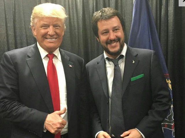 Trump and Salvini are in total agreement about illegal immigration and stopping the Muslim invasion