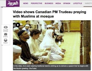Resultado de imagen para justin trudeau islam