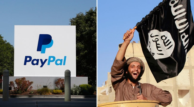 Image result for isis paypal