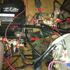 1987 Club Car 36 Volt Wiring Diagram 95 S10 Alternator Ez Go Golf Electric Get Free