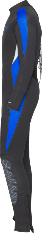 5/4 Manta Full Wetsuit - Side View