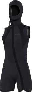 7mm Womens Step-In Hooded Vest