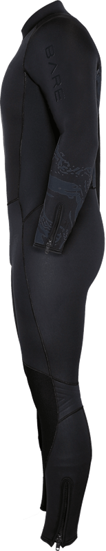 Velocity Ultra 7mm Full Suit - Side View