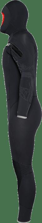 8/7mm Velocity Ultra Hooded Semi-Dry - Side