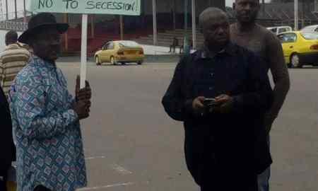 Antirevolutionary Protest in Buea