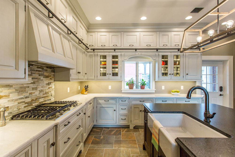 kitchen ladder hotels with in los angeles farmhouse bareville kitchens design