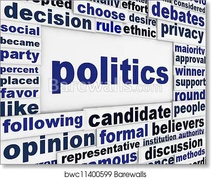 politics poster design art