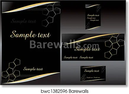 business stationery template art