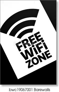 free wifi zone art
