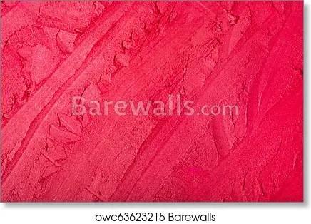 red lipstick texture background