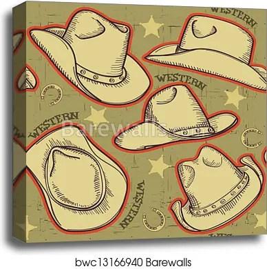 cowboy hat pattern # 31