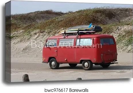 old volkswagen bus with