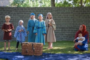 Mose, Jokeved och barnen