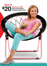 target bungee chairs bucket racing chair for 15 30 reg 29 99 updated info bargain believer on the hunt