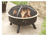 Hometrends Lattice Fire Pit $61.92 (down from $98) + FREE ...