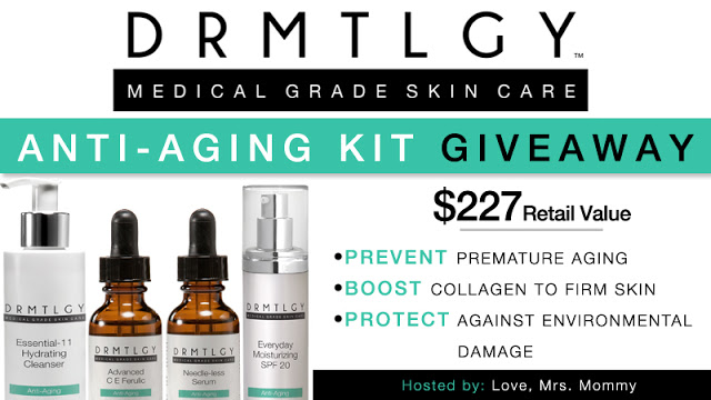 DRMTLGY Anti-Aging Kit Giveaway! 3/12 – 4/2