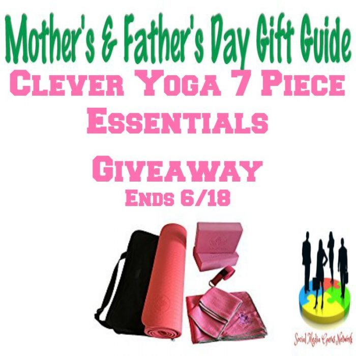 Clever Yoga 7 Piece Essentials Giveaway Ends 6/18/2017