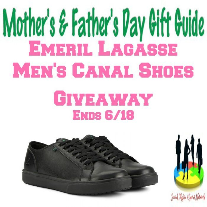 Emeril Lagasse Men's Canal Shoes Giveaway Ends 6/18/2017