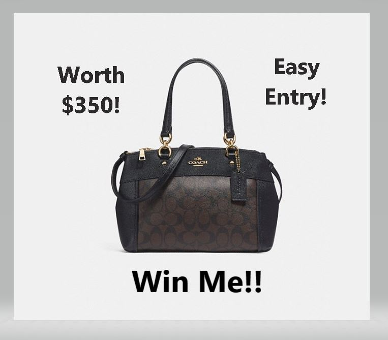 Win A Mini Brooke Carryall In Signature Canvas Worth $350 Ends Oct. 31, 2018