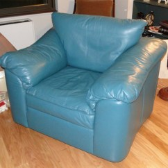 Oversized Arm Chair Best Budget Office Teal Leather
