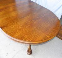 Bargain John's Antiques   American Antique Round Oak ...