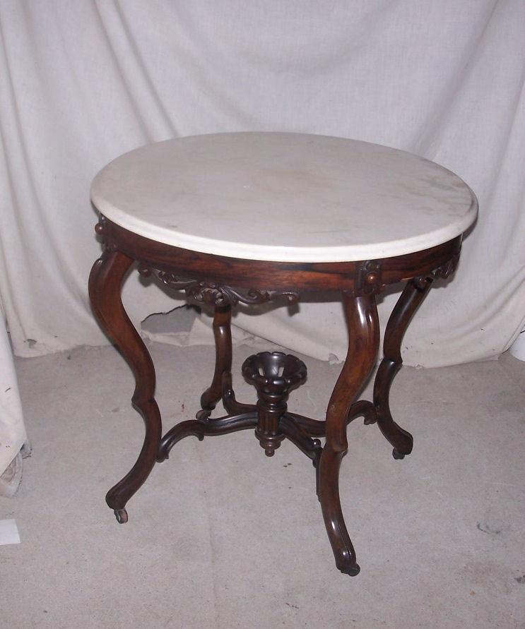 Bargain Johns Antiques  Antique Victorian Rosewood Round