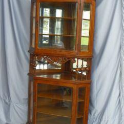 Corner Kitchen Curio Cabinet Led Lighting Bargain John's Antiques » Blog Archive Antique Oak ...
