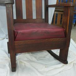 The Rocking Chair Store Old Blue Bay Hats Bargain John's Antiques | Antique Mission Oak By Charles Stickley Arts And Crafts ...