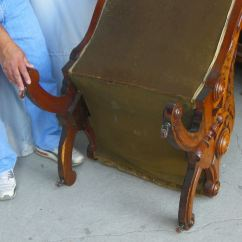 Revolving Chair Accessories Nova Posture Bargain John's Antiques » Blog Archive Antique American Victorian Walnut Sleepy Hollow ...