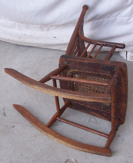 cane back chairs antique posture corrector office chair bargain john's antiques | child's oak rocking rocker with seat - john ...