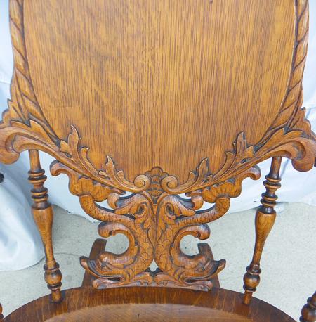 Bargain Johns Antiques  Fancy Victorian Antique Carved
