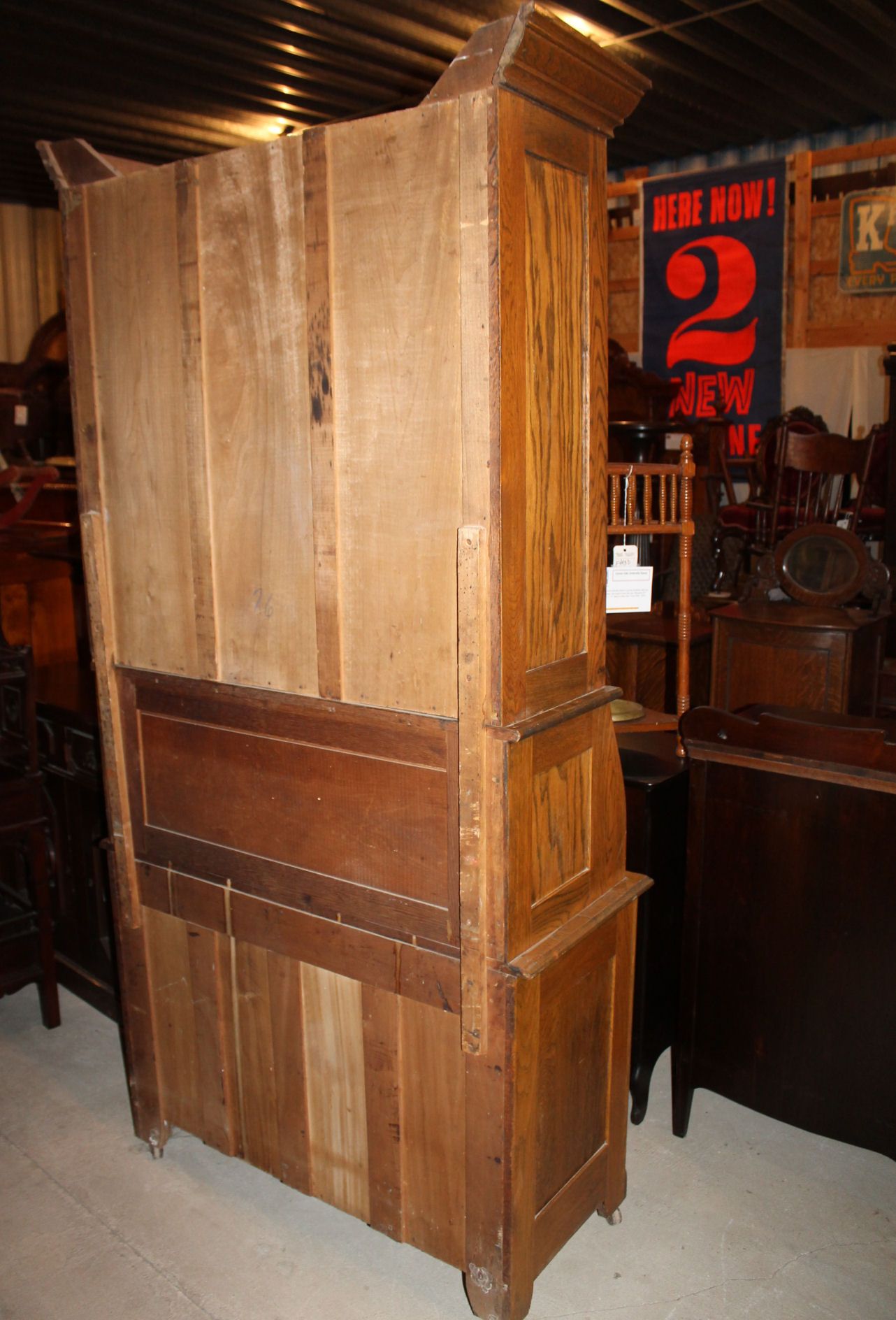 kitchen cabinet accessories stainless steel corner shelf bargain john's antiques » blog archive antique oak drop ...