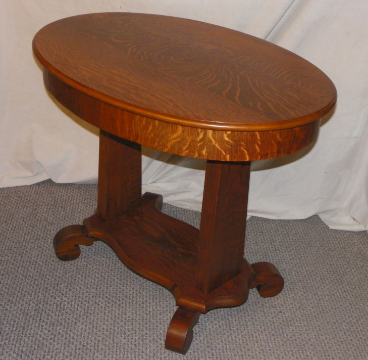 Bargain Johns Antiques  Blog Archive Antique Oak Oval